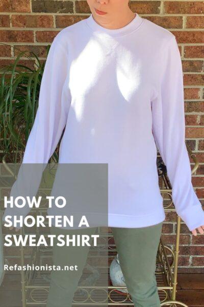 How to Crop a Sweatshirt Pin 7