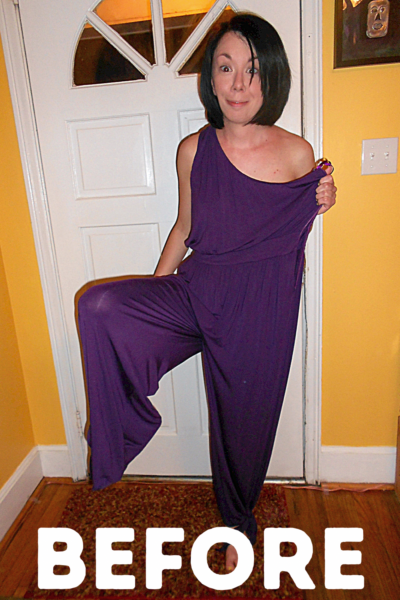 Dress from a Jumpsuit Pin 1