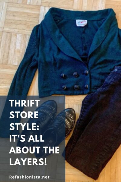 Thrift Store Style Layers Pin 5