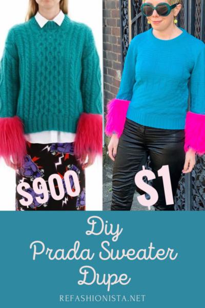DIY Prada Sweater Dupe Pin 4