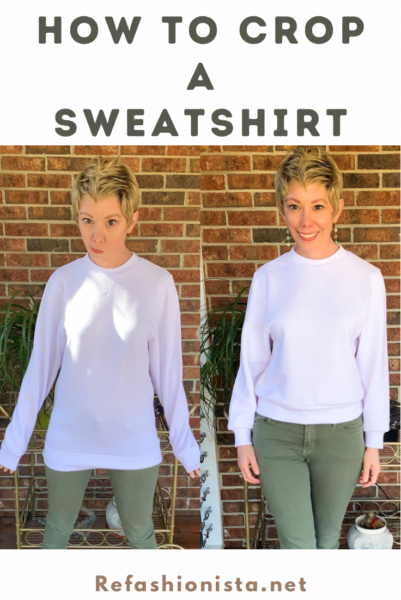 How to Crop a Sweatshirt Pin 5