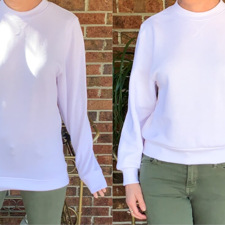 How to Crop a Sweatshirt Pin 8