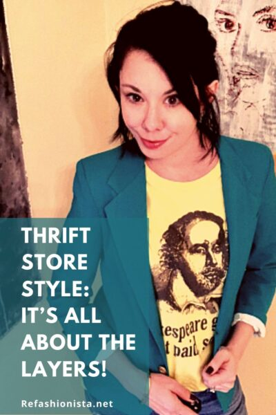 Thrift Store Style Layers Pin 3