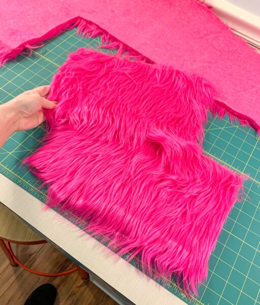 two fur rectangles