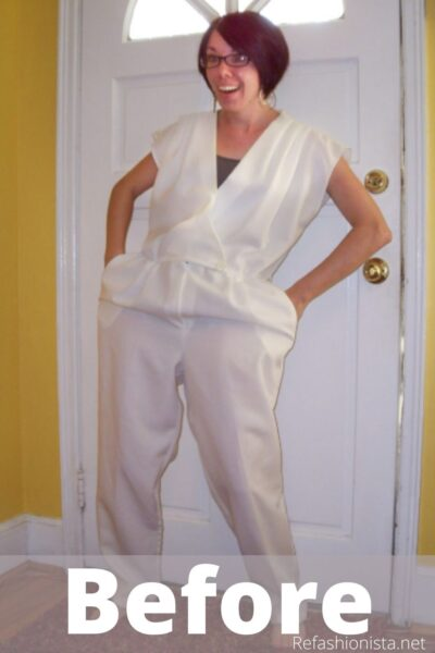 Yacht Party Jumpsuit to Dress Refashion Pin 3