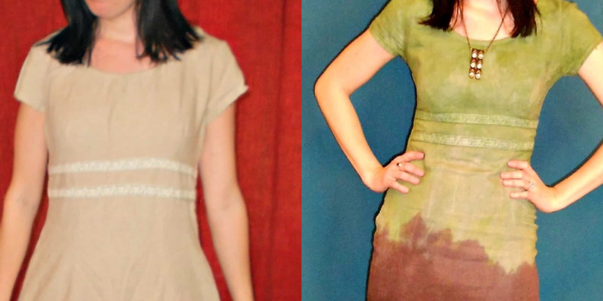 The Grass is Greener: Double Dip Dyed Dress featured image
