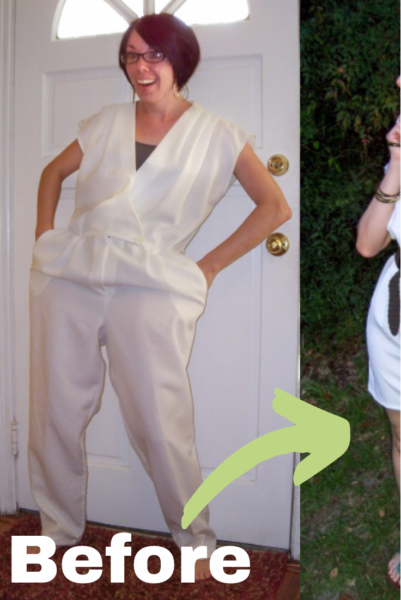 Yacht Party Jumpsuit to Dress Refashion Pin 4