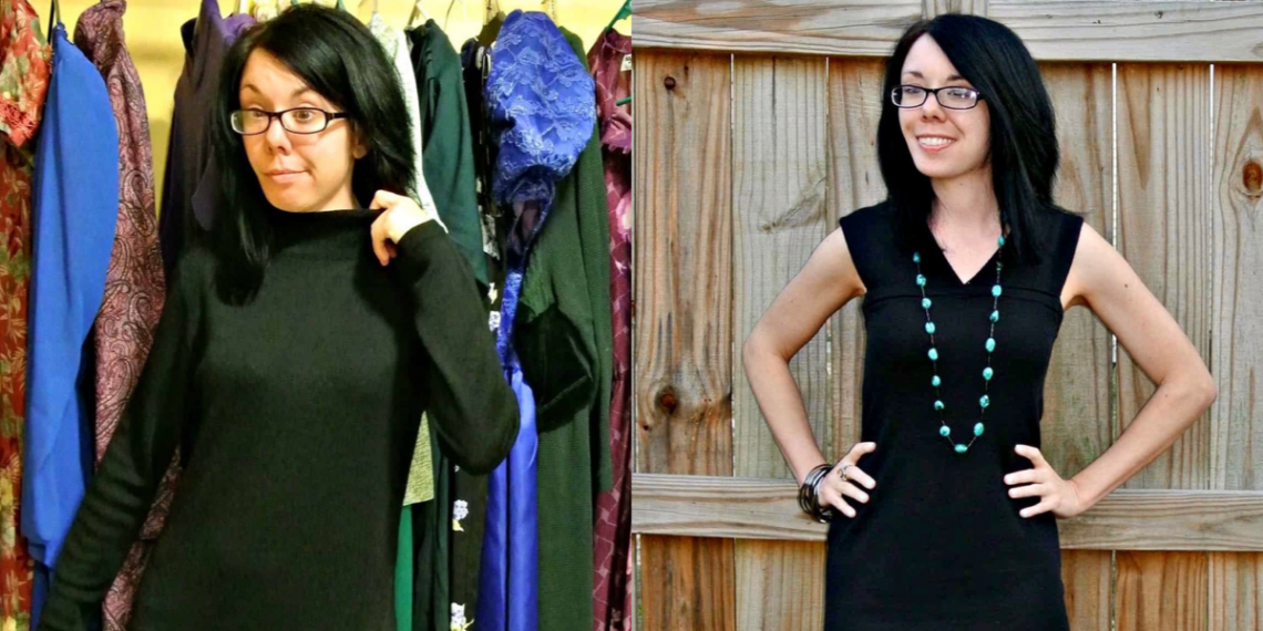 Little Black Sweater Dress Refashion featured image