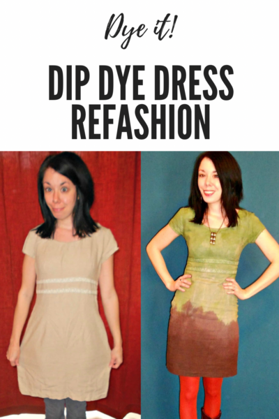 The Grass is Greener: Double Dip Dyed Dress Pin 4