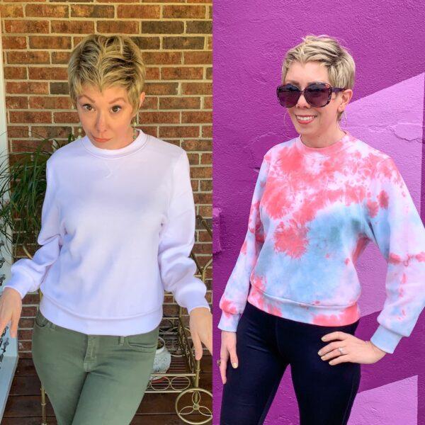 Crumple Tie Dye Technique: Sweatshirt Edition Pin 4