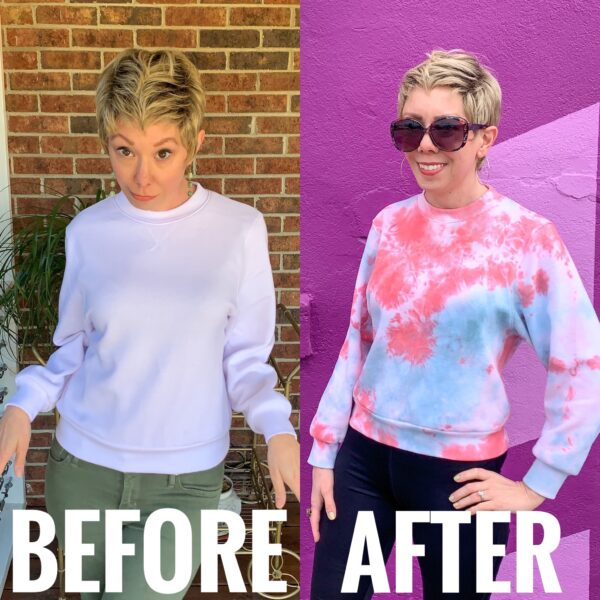 Crumple Tie Dye Technique: Sweatshirt Edition Pin 6