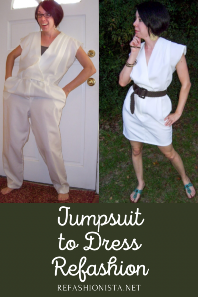 Yacht Party Jumpsuit to Dress Refashion Pin 5