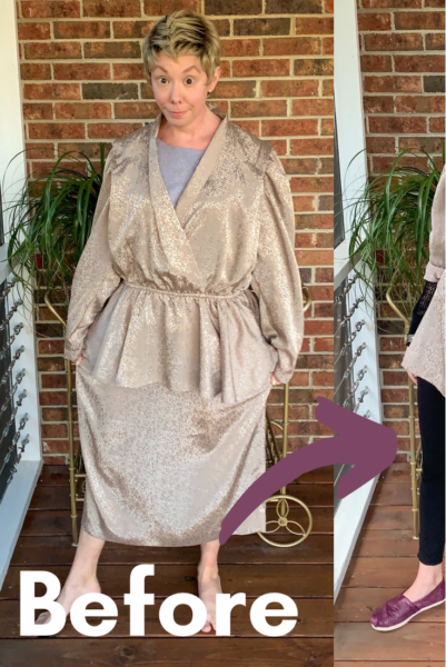 DIY Ath-Flow Coverup: Refashion the Trend Pin 4