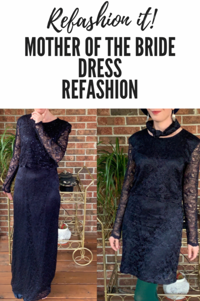 mother of the bride dress upcycle pin 4