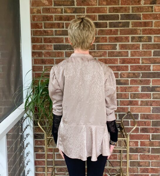 Refashionista DIY Ath-Flow Coverup after back view