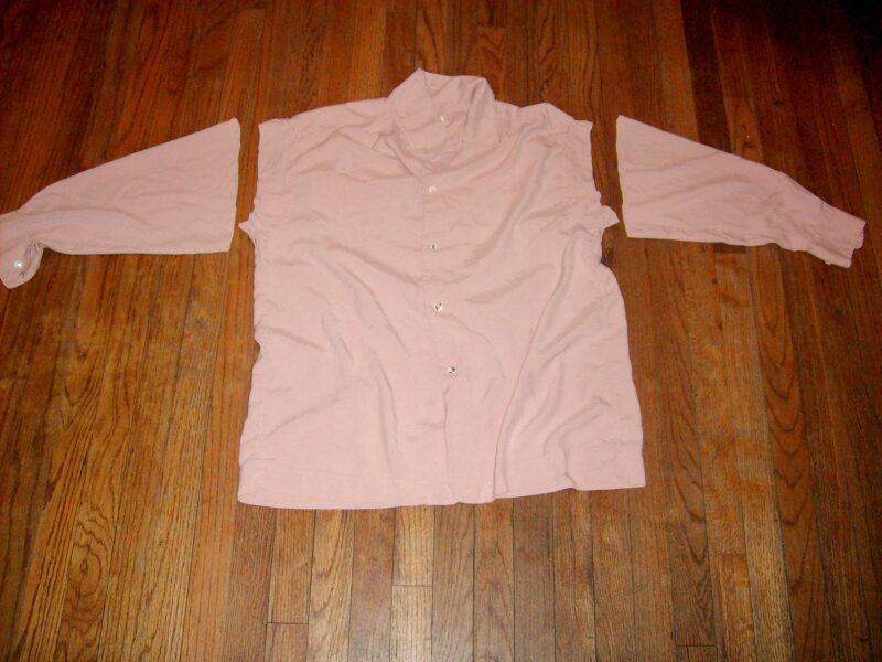 shirt with sleeves cut off