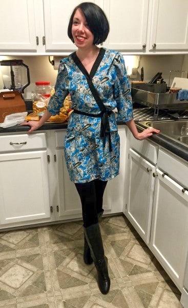 Kimono Dress Refashion after 2