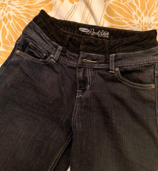 dark dyed jeans