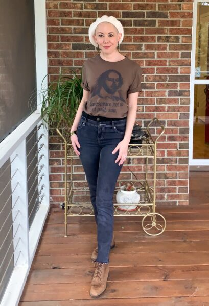 refashionista How to Make High Waisted Jeans from Low Waisted Jeans after