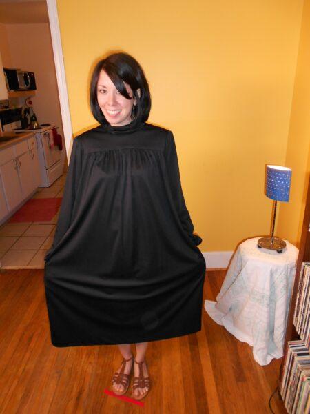 little black dress refashion pin 4