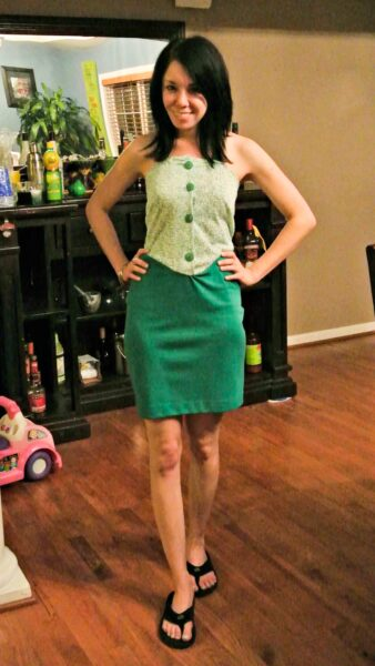 how to remove a peplum from a dress after