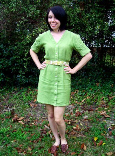 newly dyed dress