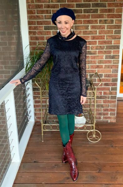 refashionista mother of the bride dress upcycle after 1