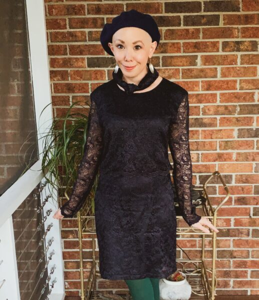refashionista mother of the bride dress upcycle after 2