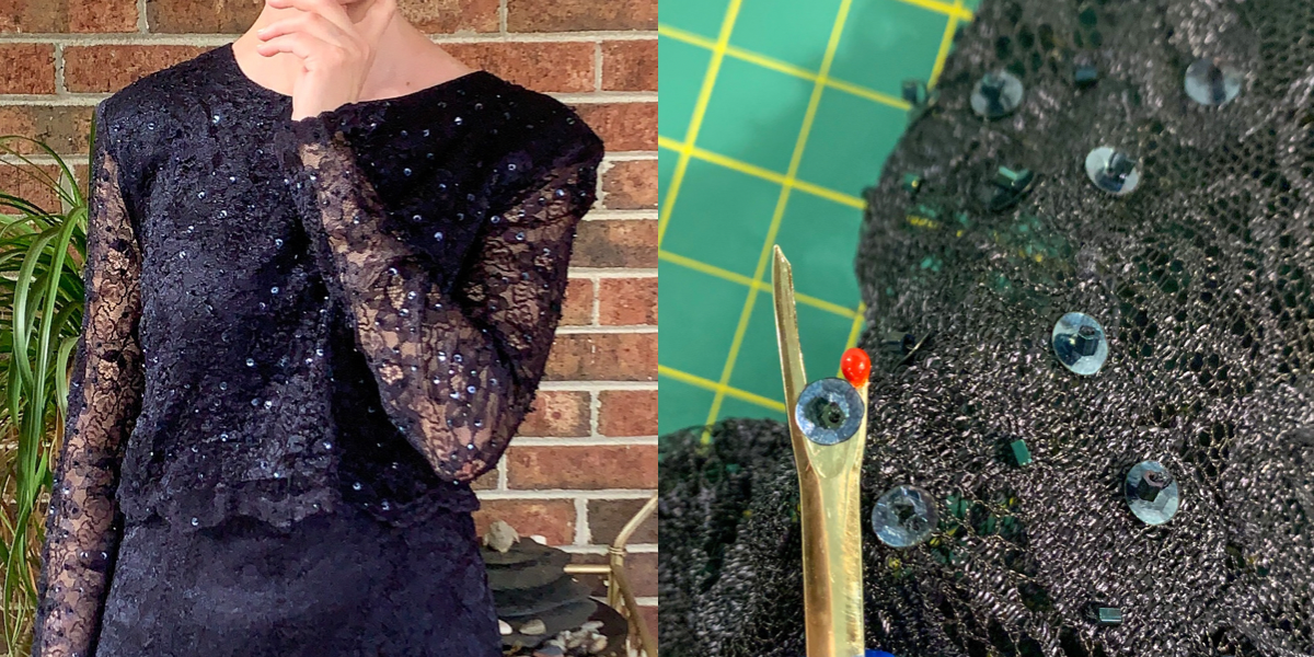 refashionista Mother of the Bride Dress Upcycle featured image