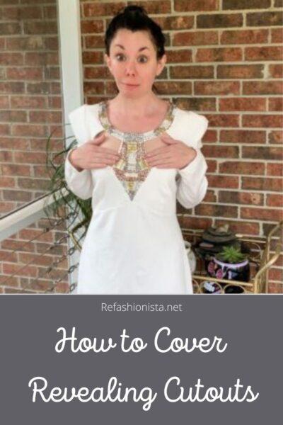 Keeping it Classy: A Cut Out Dress Refashion pin 1
