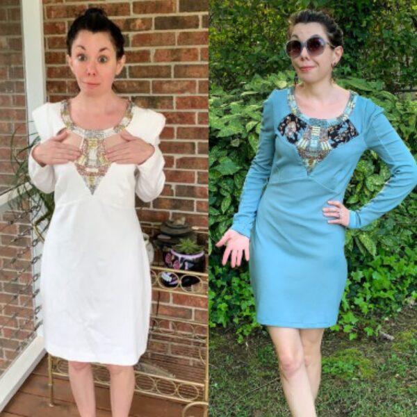 Keeping it Classy: A Cut Out Dress Refashion pin 5