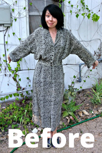 Thrifting in Austin, TX (and a Dress Refashion!) pin 3