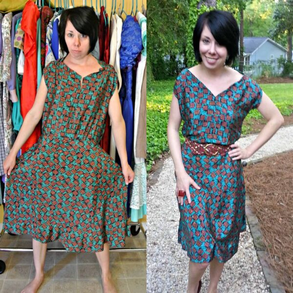 refashionista Fixing a (Poorly) Handmade Dress pin 3