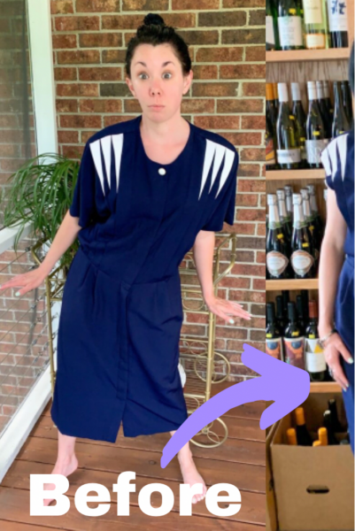 1940s-Inspired Dress Refashion pin 6