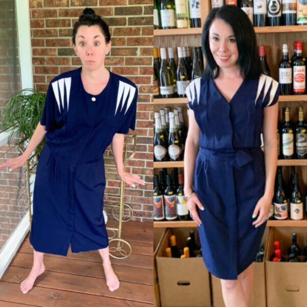 1940s-Inspired Dress Refashion pin 3