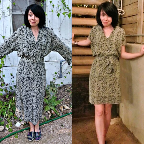 Thrifting in Austin, TX (and a Dress Refashion!) pin 4