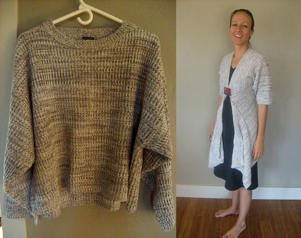 How to Refashion a Sweater: 24+ Sweater Refashion Tutorials 20