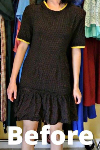 austin dress to top refashion pin 4