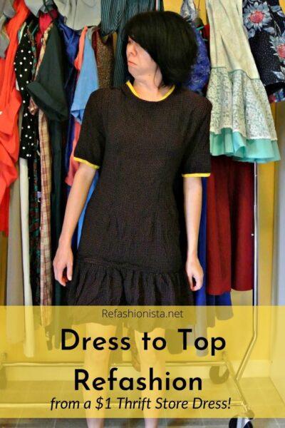 austin dress to top refashion pin 3