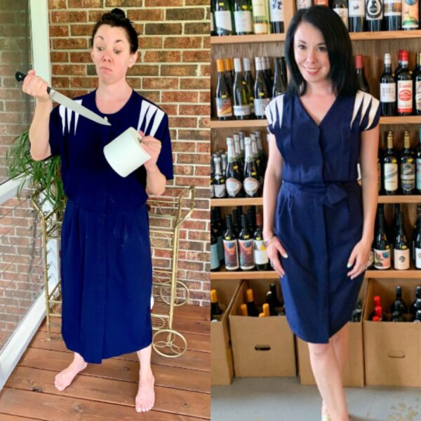 1940s-Inspired Dress Refashion pin 4