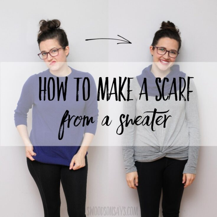 How to Refashion a Sweater: 24+ Sweater Refashion Tutorials 6