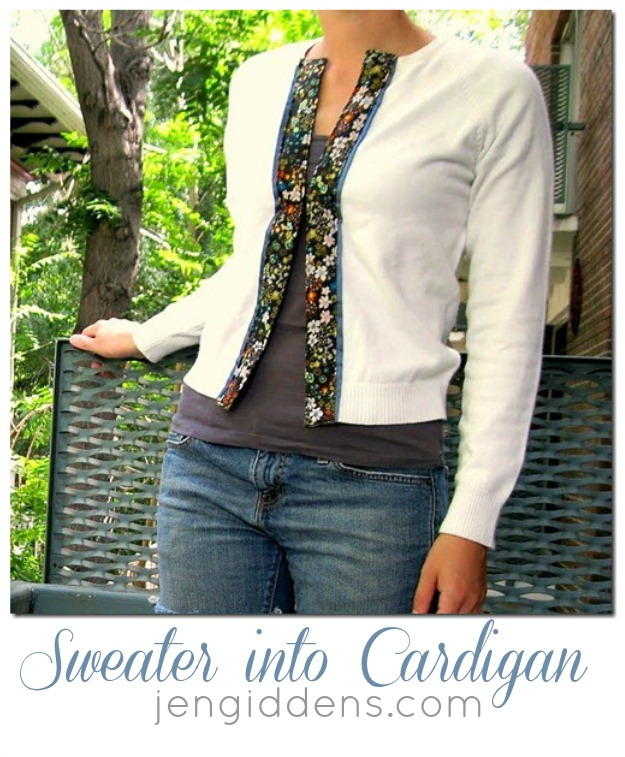 How to Refashion a Sweater: 24+ Sweater Refashion Tutorials 9