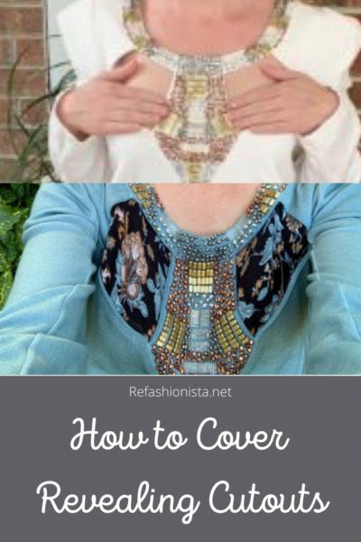 Keeping it Classy: A Cut Out Dress Refashion pin 6