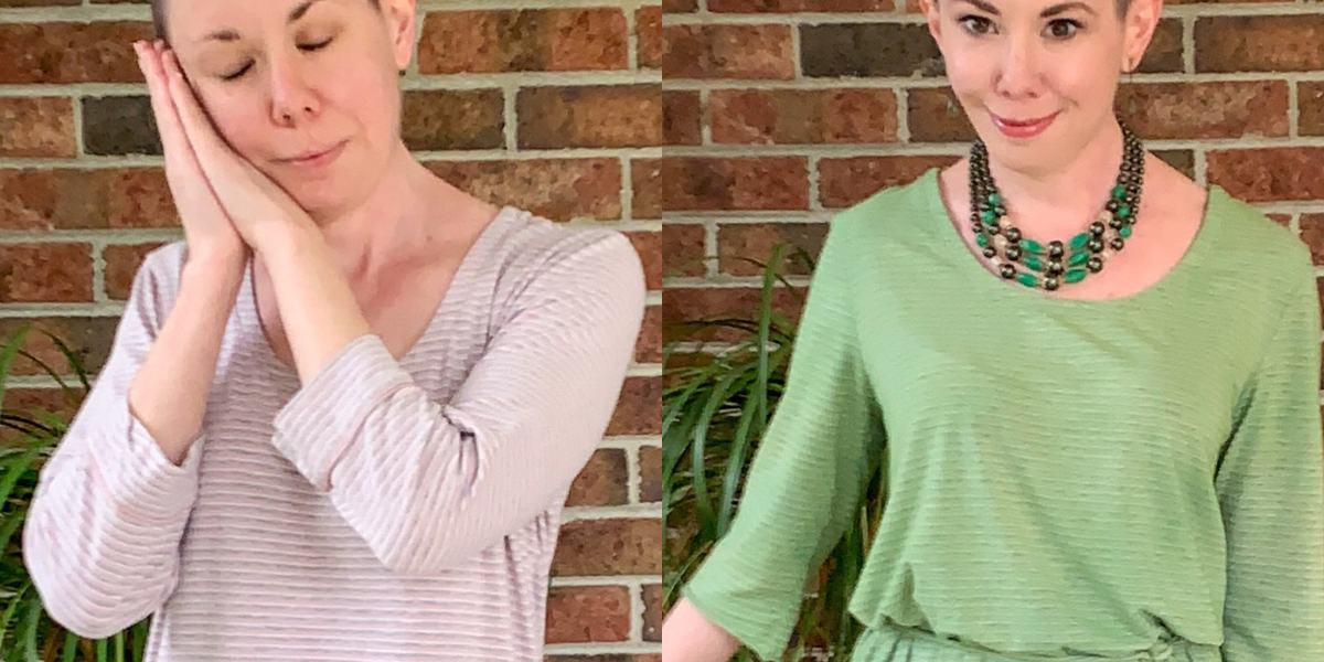 Going for Green: No-Sew Nightgown to Dress Refashion featured image