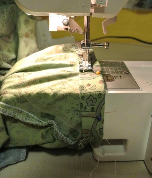 sewing sleeve hem