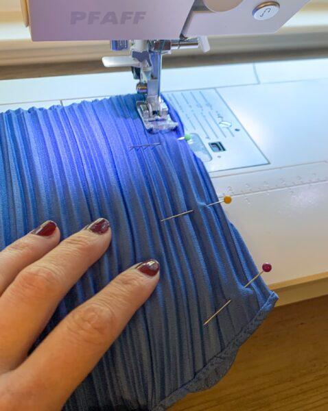 sewing side of lil v