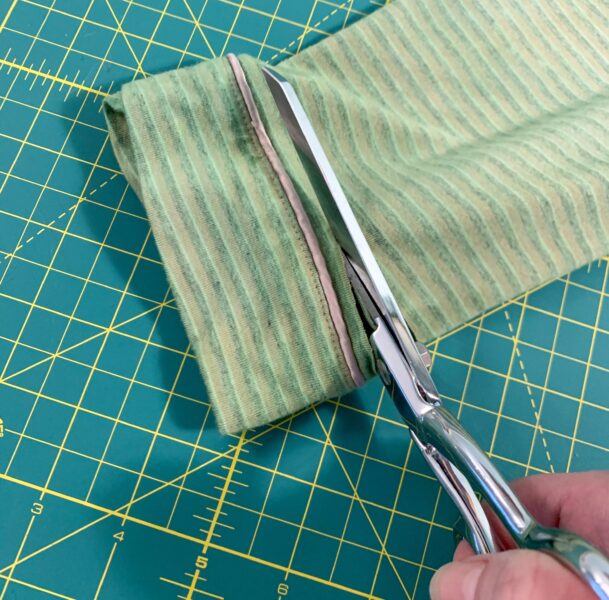 cutting off part of sleeve