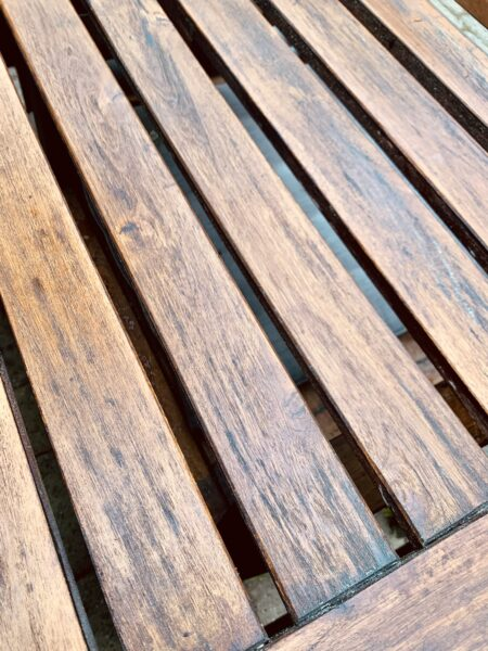 refinish outdoor wood furniture 2021 update