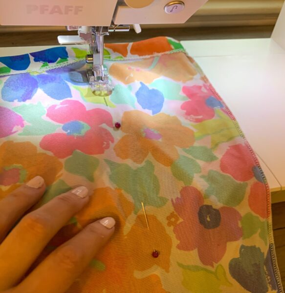 sewing new side seam