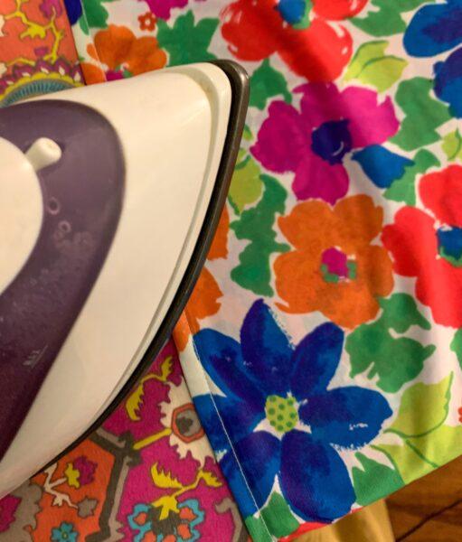 ironing seam